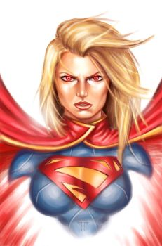 Supergirl by AIM-art