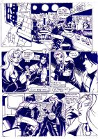 Stranger at the bar Pg1 by Cavalierstylez