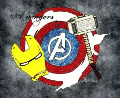 the avengers by philhorn