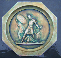 Decorative Relief Bronzefied by Siobhan68