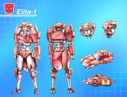 Elita Redesign Completed~!! by lucycat410