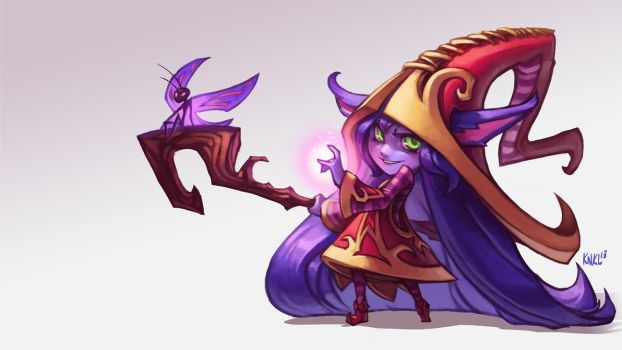 Lulu League of Legends. KNKL by KNKL