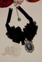 Gothic Lady Victoria Necklace by AramShadow