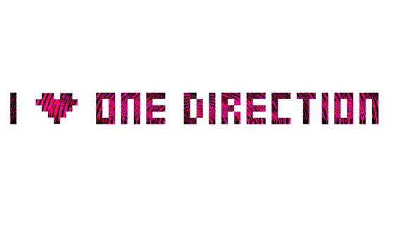 I Love One Direction PNG by selenagomezpng
