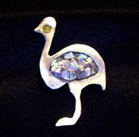 Emu Pendant by Ms-Silver