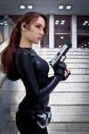 Lara Croft catsuit - Necronomicon 9 by TanyaCroft