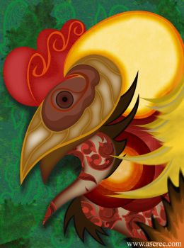 Part of Java's chicken by ascrec