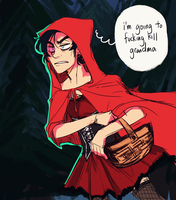 little red riding whaaaat by an-jing