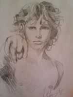 Jim Morrison by fishmm