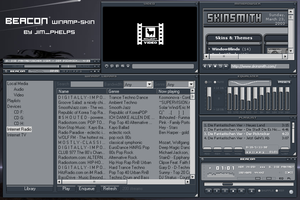 Beacon WinAmp2-skin (updated) by jim-phelps