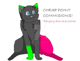 Very Very Cheap Point Commissions by ARTISTFUNtomlinson