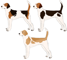 Foxhound Designs For Dovie by mexicanine