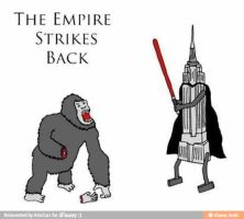 Star Kong The empire strikes back by salvi41