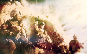 Modern Warfare 3 - Wallpaper 4 by MuuseDesign