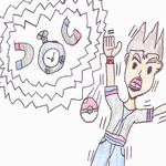 Sancho and Magnemite: Shocking as it is by TempestVortex