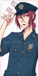 fa: Free! ES : Officer Rin by 3071527