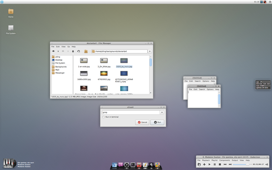 Lambda for XFCE by p0ngbr