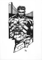 Solid Snake from MGS2 by Av3r