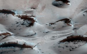 Martian Sand Dunes in Spring by jswis