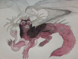 Wolf Dragon color started by InuRyoko