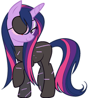 Wet Mane Commander Twilight Sparkle by Alkonium