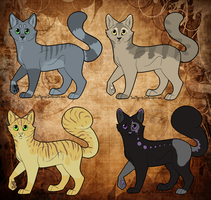 Cat Adopts VIII closed by LunAdopts