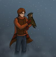 Percy in the Snow by The-Starhorse