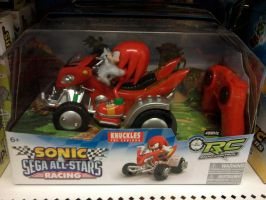 Sonic Sega All-Stars Racing Radio control Knuckles by sonicfan40