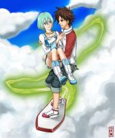 Eureka seveN : Let's Fly Away by rokkudaime