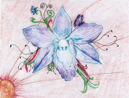 Blue Orchid by taewon26