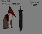 Pyramid head pony version by darknessMohag