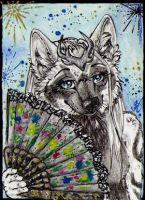 ACEO: NecromantDrakontas by Cally-Dream