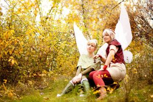 Tinkerbell and Terence by Rayi-kun