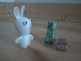 cretin rabbits and the creeper by creeperaptor40