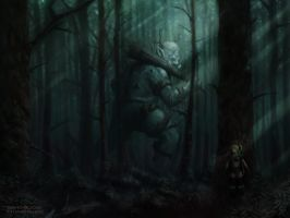 Forest Ogre by davidsu330