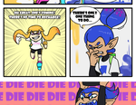 If Splatoon had melee by lilowoof