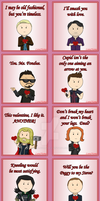 Avengers Valentines cards by LunaNuma