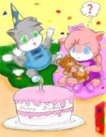 VG Kitties Birthday Party by ViralJP