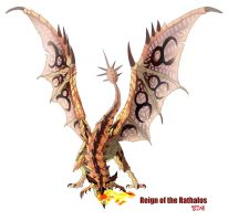 Reign of the Rathalos by macawnivore