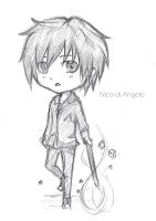 PJATO: nico di angelo chibi (doodle) by winter-monsoon