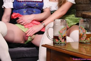 Bier and Crossdressing by TheCrossdresser