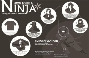 How to be a ninja by MissyZoe