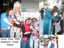 Ezio Attack by SapphireEagle