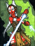 Force Unleashed Shaak Ti by grantgoboom