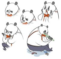 Business Panda Expressions by hamadubai