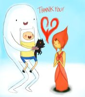 Thank You Flame Princess by Mayonaka-Zetsubo