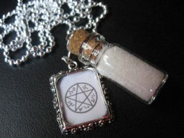 Devil's Trap Salt Vial by SpellsNSpooks