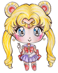 Sailor Moon by Bee-chii