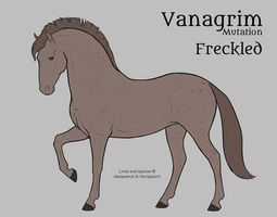 Vanagrim Mutation | Freckled by alexpeanut