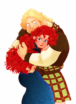 BRAVE: Merida x MacGuffin by Weasley-Detectives
